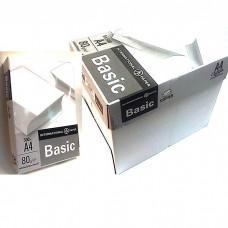Бумага А4 Basic 80g/m2 ящик (5 пачек)