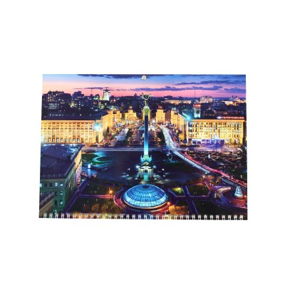 Календарь квартальный (3-пружинный) 2021 Виды Киева 02