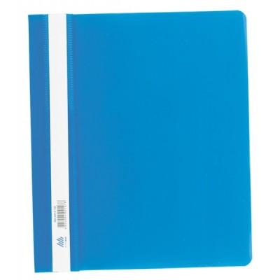 Скоросшиватель пластиковый А5 РР синий