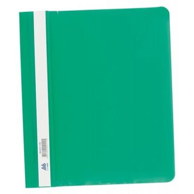 Скоросшиватель пласт. А5 РР зеленый