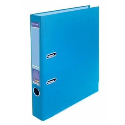 Папка-регистратор А4 LUX Economix, 50 мм, пастельная голубая