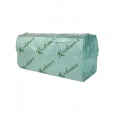 Оптовый Набор: Полотенца бумажные в листах Кохавинка V-fold однослойные 170 шт, зеленые, 25уп. + Календарь
