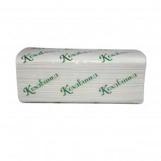 Оптовый Набор:Полотенца бумажные в листах Кохавинка V-fold двухслойные 160 шт, белые 20 уп+Календарь
