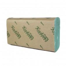 """Полотенца бумажные в листах Z """"Кохавинка"""" зеленые 200 отрывов"""