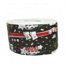 Оптовый Набор: Туалетная бумага MildiDeLuxe Jambo двухслойный 195х90 мм, белый, 16 шт. + Календарь