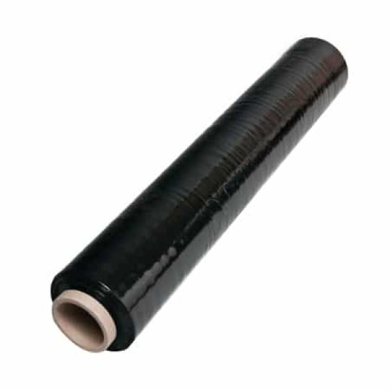 Стрейч пленка 3,2 кг / 20 черная
