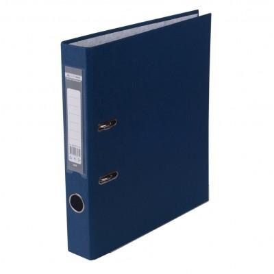 Регистратор LUX одност. JOBMAX А4, 50мм PP, темно-синий, сборный