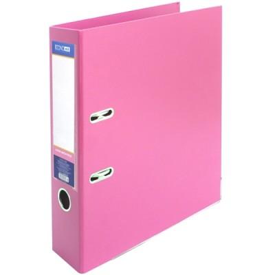 Папка-регистратор А4 LUX Economix, 70 мм, пастельная розовая