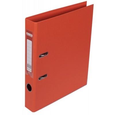 Регистратор ELITE двустор. А4, 50мм, PP, оранжевый, сборный