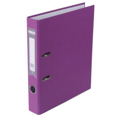 Регистратор LUX одност. JOBMAX А4, 50мм PP, фиолетовый, сборный