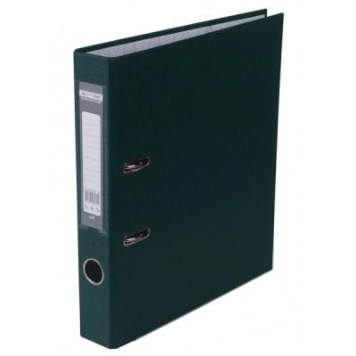 Регистратор LUX одност. JOBMAX А4, 50мм PP, т.зеленый, сборный