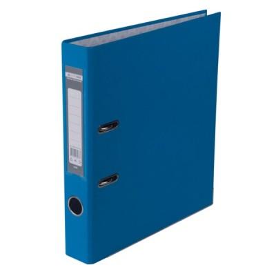 Регистратор LUX одност. JOBMAX А4, 50мм PP, св.синий, сборный