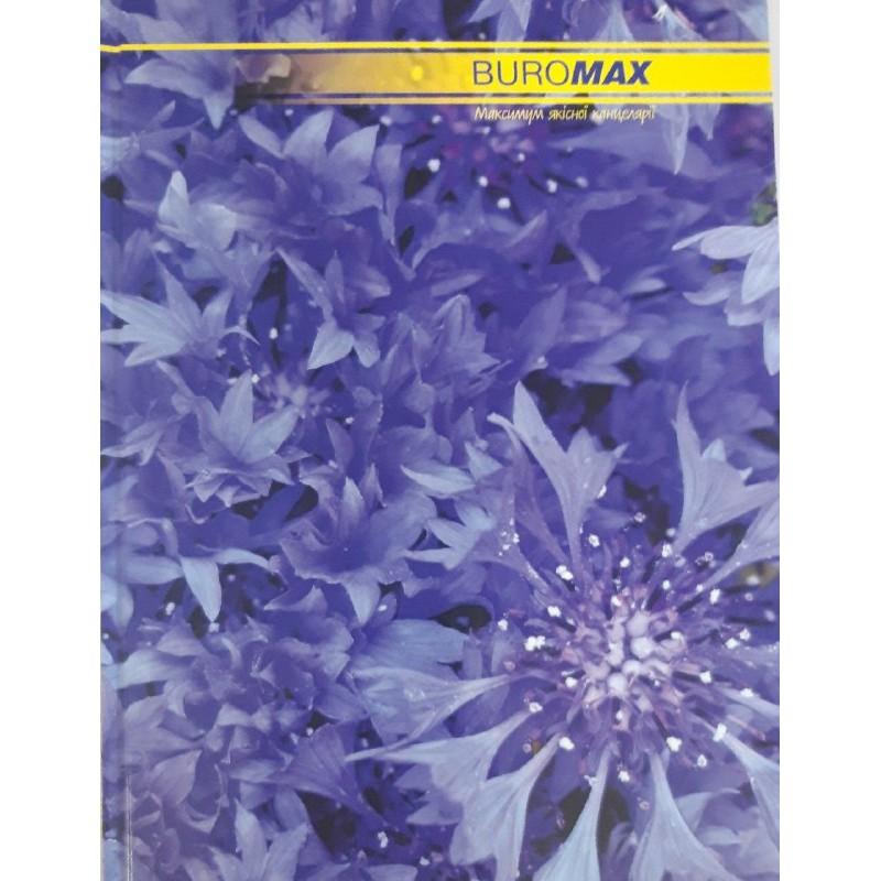Книга учета 96 листов/клетка, офисная (твердая ламинированная обложка), А4