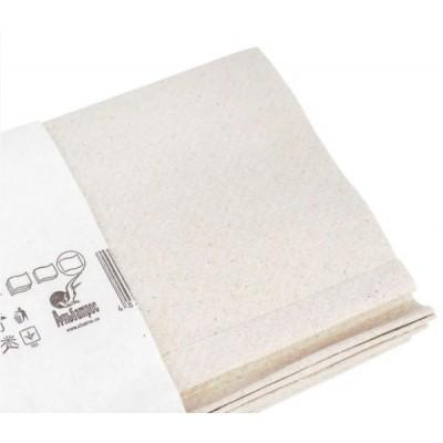 Полотенце бумажное макулатурное, V-сложения, серый, 160 л. альбатрос