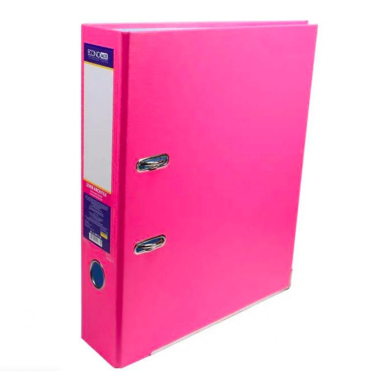 Папка регистратор А4 Economix, 50 мм, розовая E39720*-09