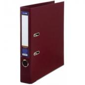 Папка регистратор А4 LUX Economix, 50 мм, бордовая E39722*-18