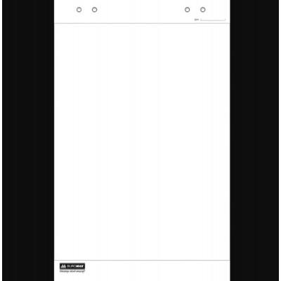 Блок бумаги для флипчартов, JOBMAX, 64х90 см, нелинованный, 30 л., офсет 70 г/м2, полиэт.пакет (BM.2298-00)