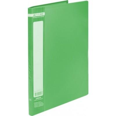 Папка с 20 файлами А4 JOBMAX, зеленый (BM.3605-04)