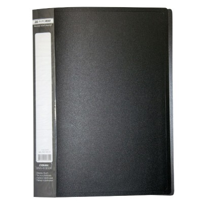 Папка с 30 файлами А4 JOBMAX, черный (BM.3611-01)