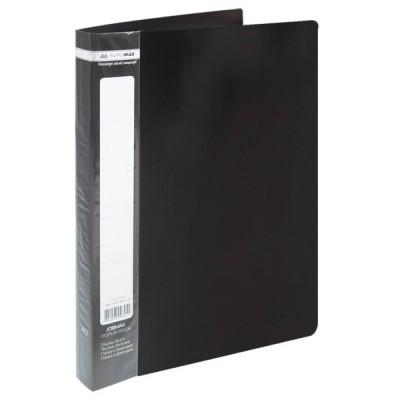 Папка с 40 файлами А4 JOBMAX, черный (BM.3616-01)