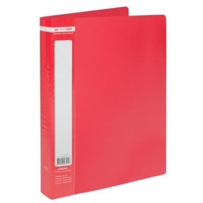 Папка с 40 файлами А4 JOBMAX, красный (BM.3616-05)