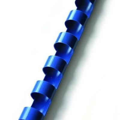 Пружины пластиковые 6 мм, синие