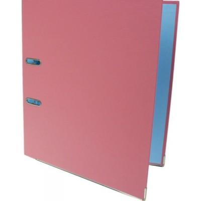 Папка-регистратор А4 Economix, 50 мм, пастельная розовая (E39720 * -89)