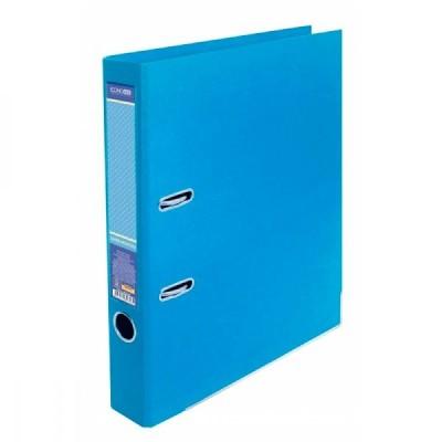 Оптовый Набор: Папка-регистратор А4 LUX Economix, 70 мм, пастельная голубая, 10 шт. + Календарь