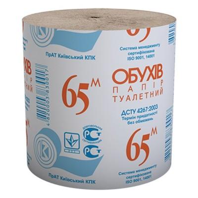 "Бумага туал. рул.ТМ ""Обухов 65"" в гофроящике (OBUHOV65)"