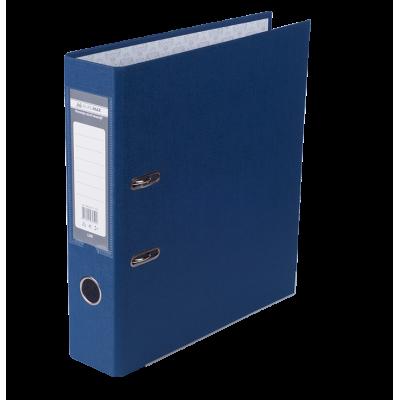Папка регистратор LUX односторонняя JOBMAX A4, 70 мм, темно-синяя