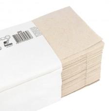 Полотенца бумажные макулатурные, V-сложения, серый, 200 шт.