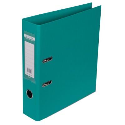 Папка-регистратор ELITE двухстор. А4, 70мм, PP, бирюзовый, сборный