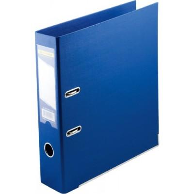 Папка-регистратор ELITE двухстор. А4, 50мм, PP, синий, сборный
