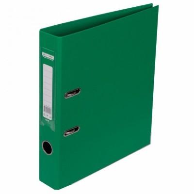 Папка-регистратор ELITE двухстор. А4, 50мм, PP, зеленый, сборный