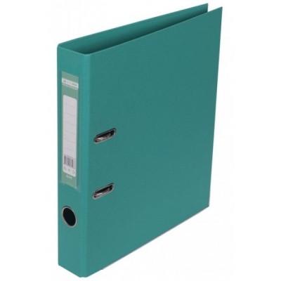 Папка-регистратор ELITE двухстор. А4, 50мм, PP, бирюзовый, сборный