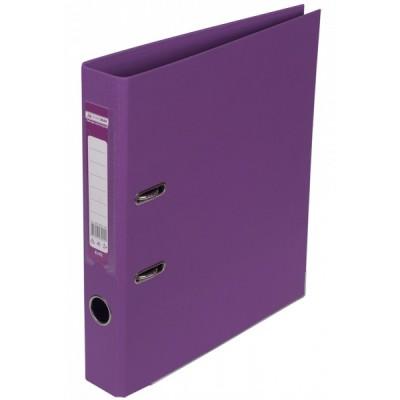 Папка-регистратор ELITE двухстор. А4, 50мм, PP, фиолетовый, сборный