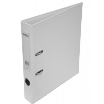 Папка-регистратор ELITE двухстор. А4, 50мм, PP, белый, сборный