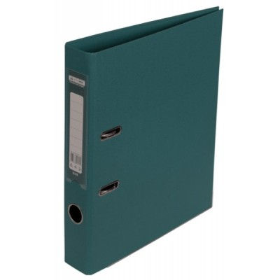 Папка-регистратор ELITE двухстор. А4, 50мм, PP, темно-зеленый, сборный