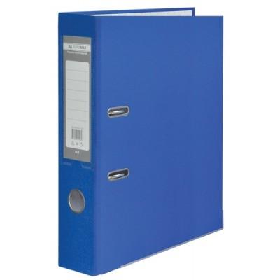 Папка-регистратор LUX одност. JOBMAX А4, 70мм PP, синий, сборный