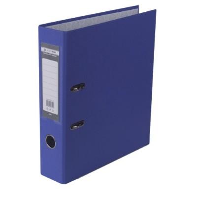 Папка-регистратор LUX одност. JOBMAX А4, 70мм PP, фиолетовый, сборный