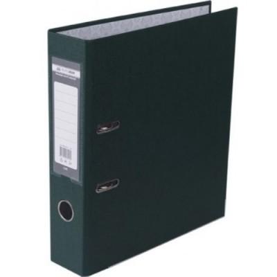 Папка-регистратор LUX одност. JOBMAX А4, 70мм PP, темно-зеленый, сборный
