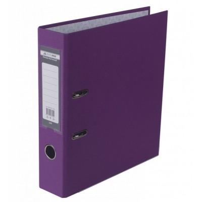 Папка-регистратор LUX одност. JOBMAX А4, 70мм PP, сиреневый, сборный