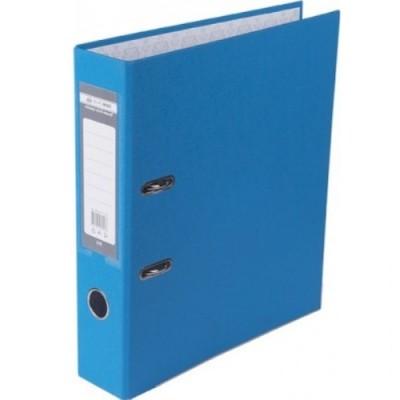 Папка-регистратор LUX одност. JOBMAX А4, 70мм PP, светло-синий, сборный