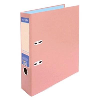 Папка-регистратор А4 Economix, 70 мм, пастельная розовая