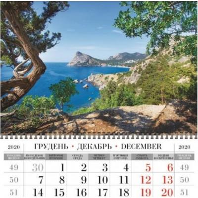 Календарь квартальный (3-пружинный) 2021 Природа 11
