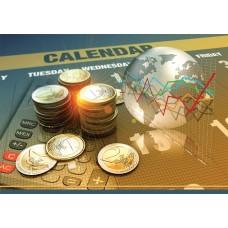 Календарь квартальный (3-пружинный) Евро монеты 2021
