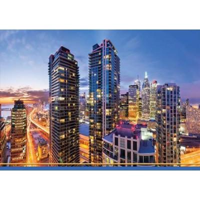 Календарь квартальный (3-пружинный) Ночной город 2021