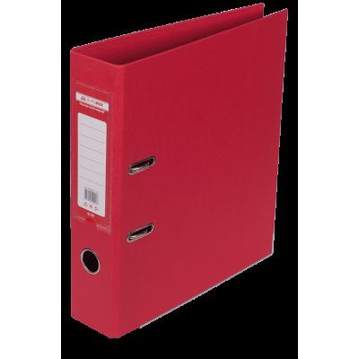 Папка регистратор ELITE двусторонняя A4, 70 мм, красная