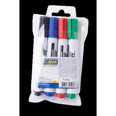 Набор маркеров Buromax 2-4 мм 4 шт