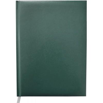 Ежедневник недатированный MASTER, A5, 288 стр. в клетку, зеленый